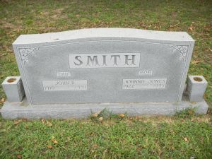 "My husband once said to his grandmother when they visited the cemetery, "" I'm scared "", she replied "" there's no reason to be, they're all family"""